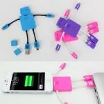 ロボット型USBケーブル