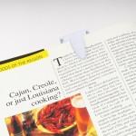 ルーペ付き15cm定規の使用例・本の写真