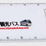 ルーペ付き15cm定規の名入れの写真
