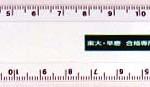15cmCM定規の拡大商品写真