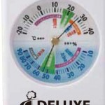 健康管理!温湿度計名入れの写真